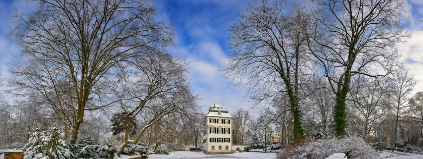Winter: Holzhausenschlösschen Panorama [no. 1774]
