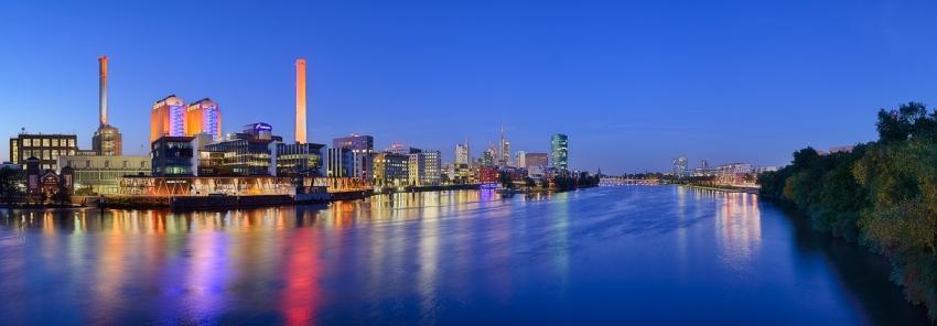 Frankfurt Westhafen Panorama [no. 2067]