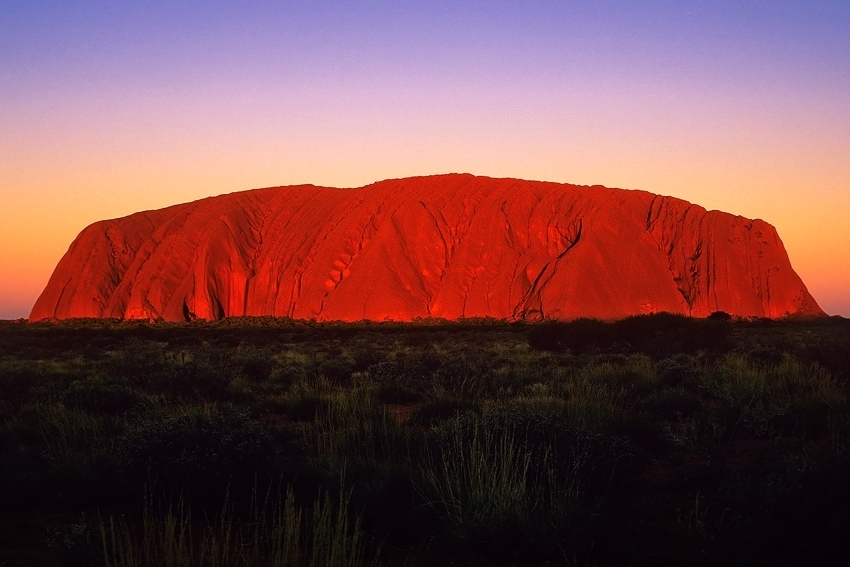Ayers Rock Sunset  [no. 412]