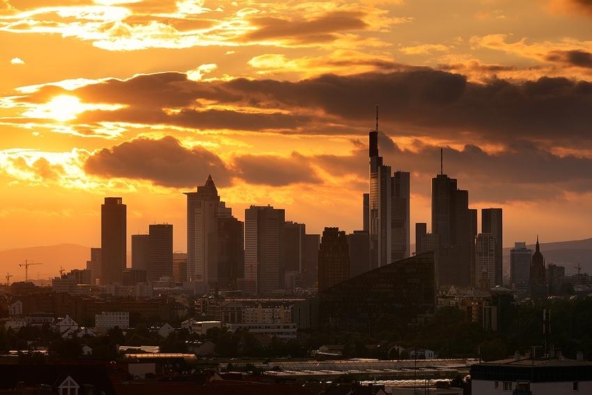 Frankfurt Sunset  [no. 1705]