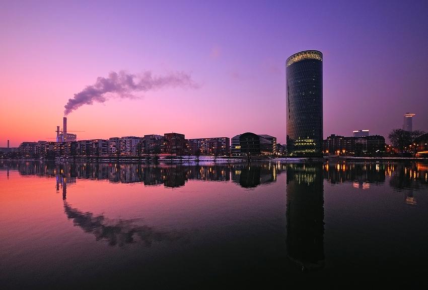 Winter im Westhafen