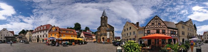 851 -  Stadt Wehlen - 360°-Panorama