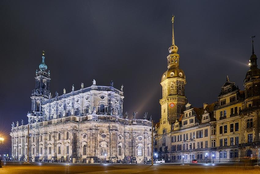 Dresden - Hofkirche & Schloss [no. 1970]