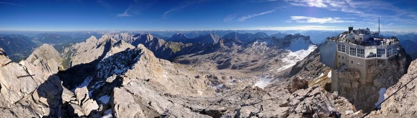 Zugspitze Panorama [no. 1134]