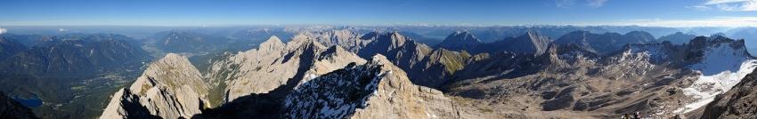 Zugspitze Panorama [no. 1153]