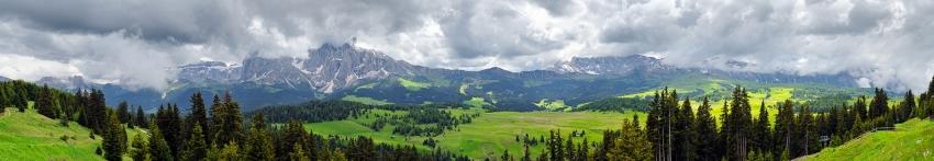 Seiser Alm - Panorama  [no. 1331]