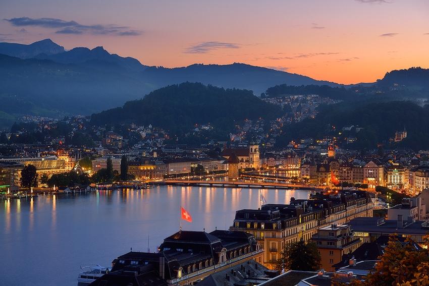 Luzern Evening [No. 2107]