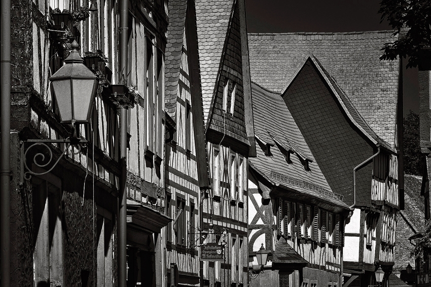 Germany: Fachwerkhäuser  [no. 498]