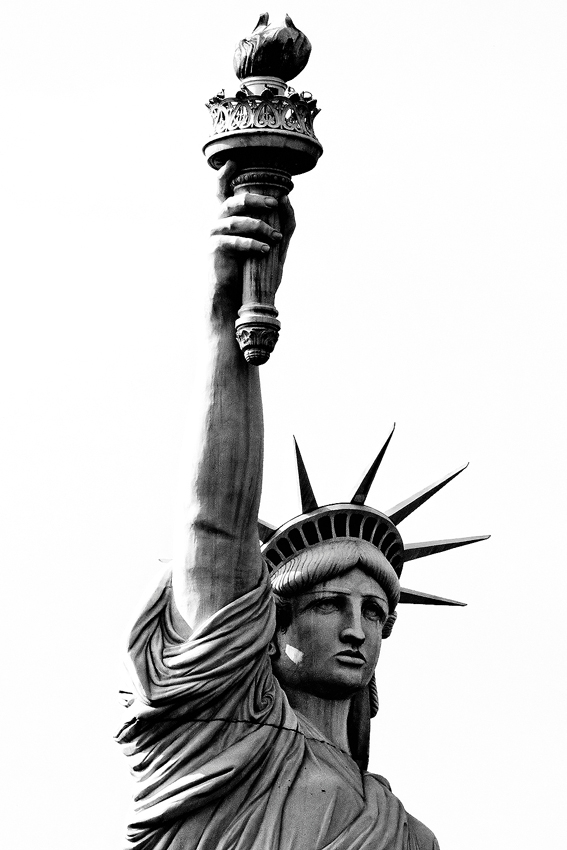 Las Vegas: Statue of Liberty  [no. 494]