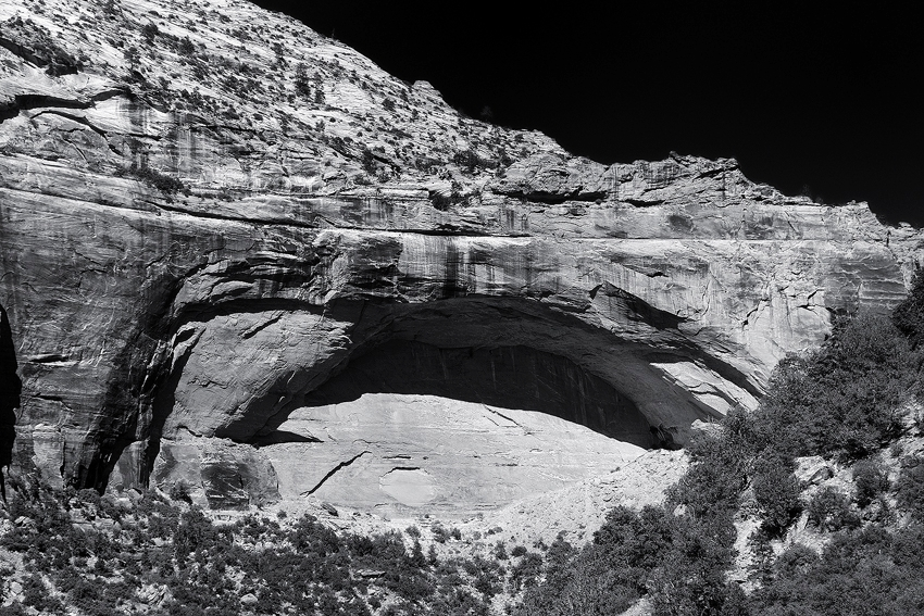 Zion National Park - Great Arch [no. 954]