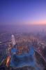 Sunset at Burj Khalifa [no. 1510]