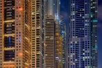 Dubai Marina Skyscrapers [No. 1878]