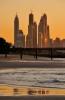 Dubai Marina seen from Jumeirah Beach  [no. 1472]