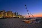 Dubai - Evening at the Beach [no. 2077]