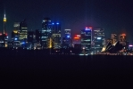 Sydney Harbour Skyline @ Night  [no. 400]