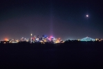Sydney Night Skyline  [no. 396]