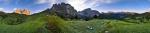 Morgen am Sellajoch - Panorama [no. 1338]