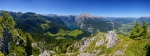 Berchtesgadener Alpen - Panorama Blick vom Jenner  [no. 1685]