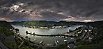 1036 - St. Goar am Rhein - Panorama