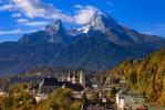 Berchtesgaden mit Watzmann  [no. 1813]