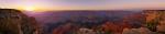 Grand Canyon Sunset Panorama [no. 1120]